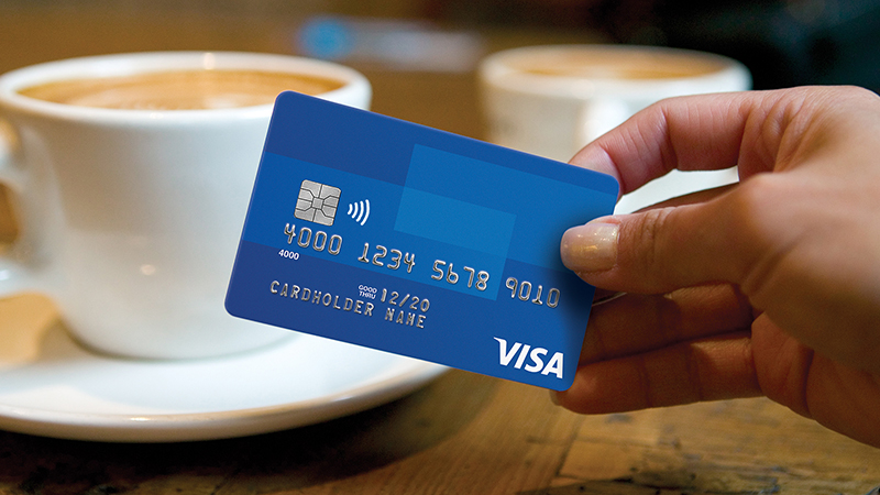Generic Visa Card with Chip