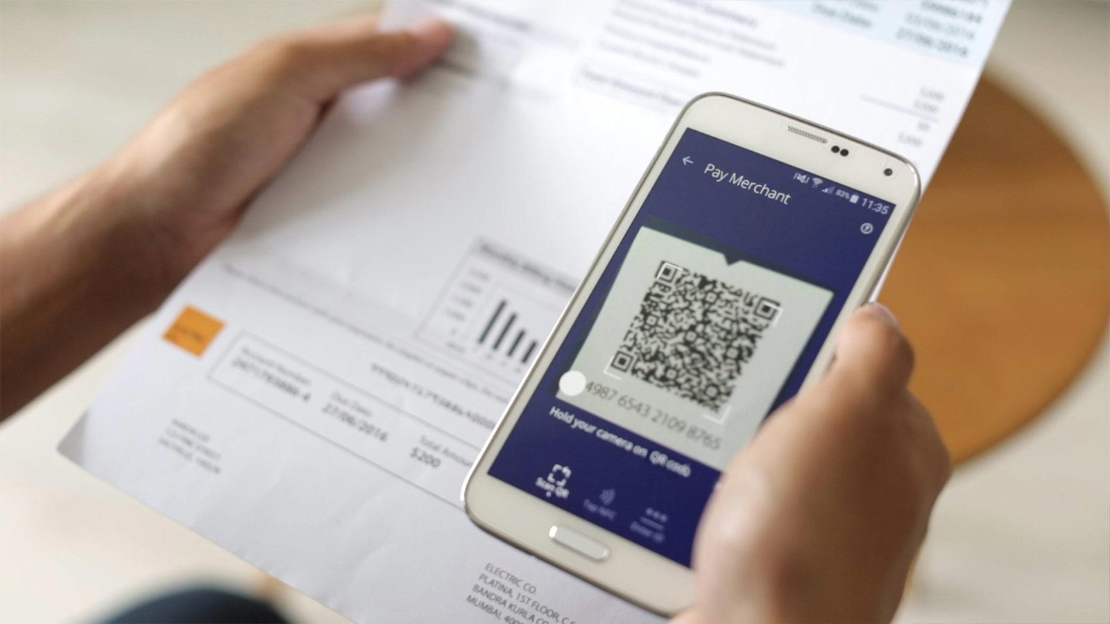 Scan to pay for issuers