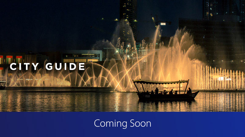 Dubai, city, guide, coming, soon